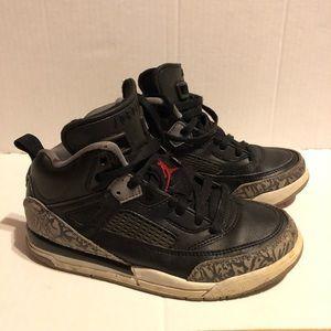 Jordan Spizike 13.5C Black Cement Kids Shoes